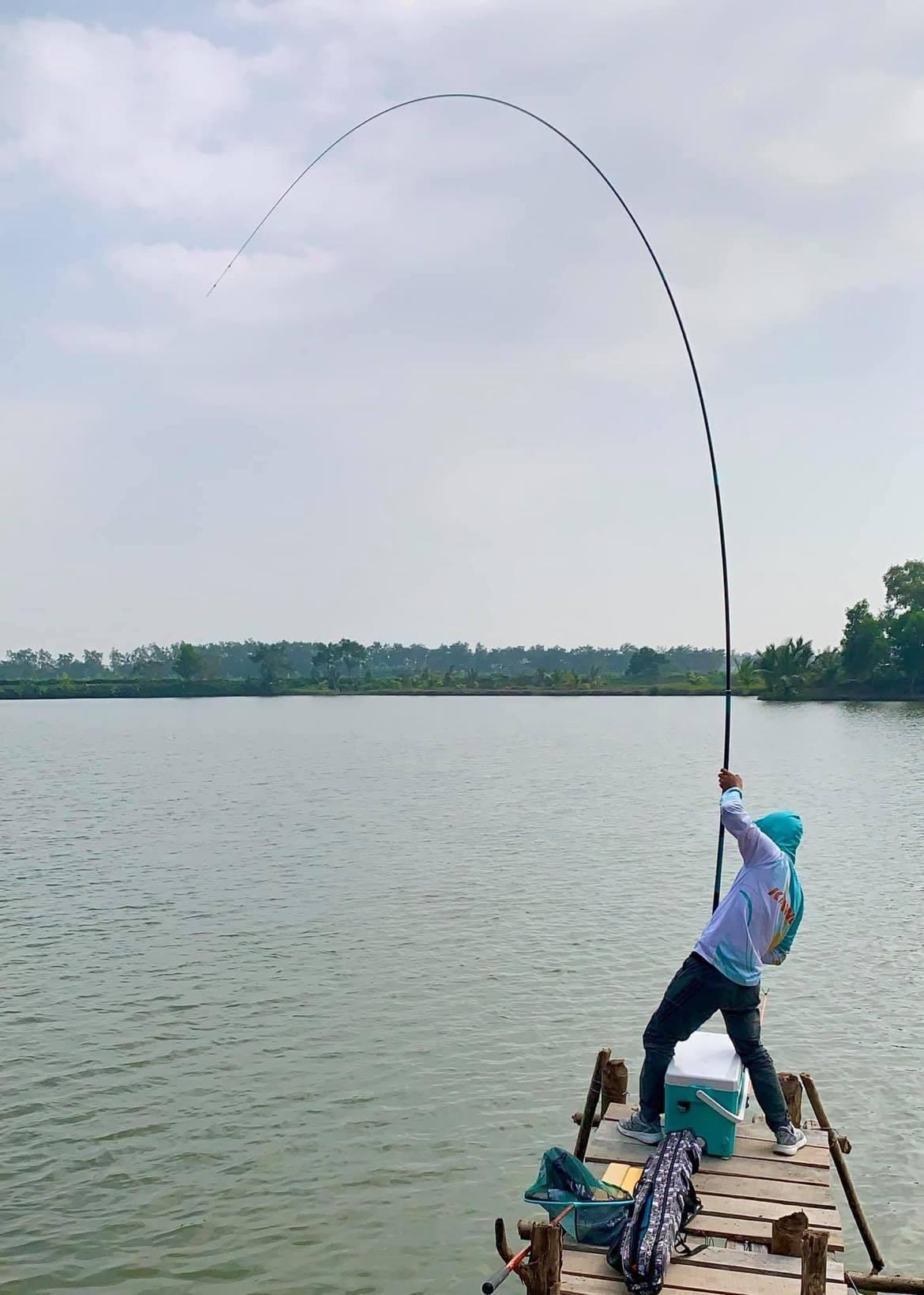 Câu cá lớn tự nhiên